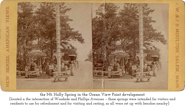 the Mt. Holly Spring at Ocean View Point