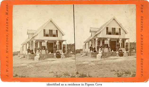 residence at Pigeon Cove
