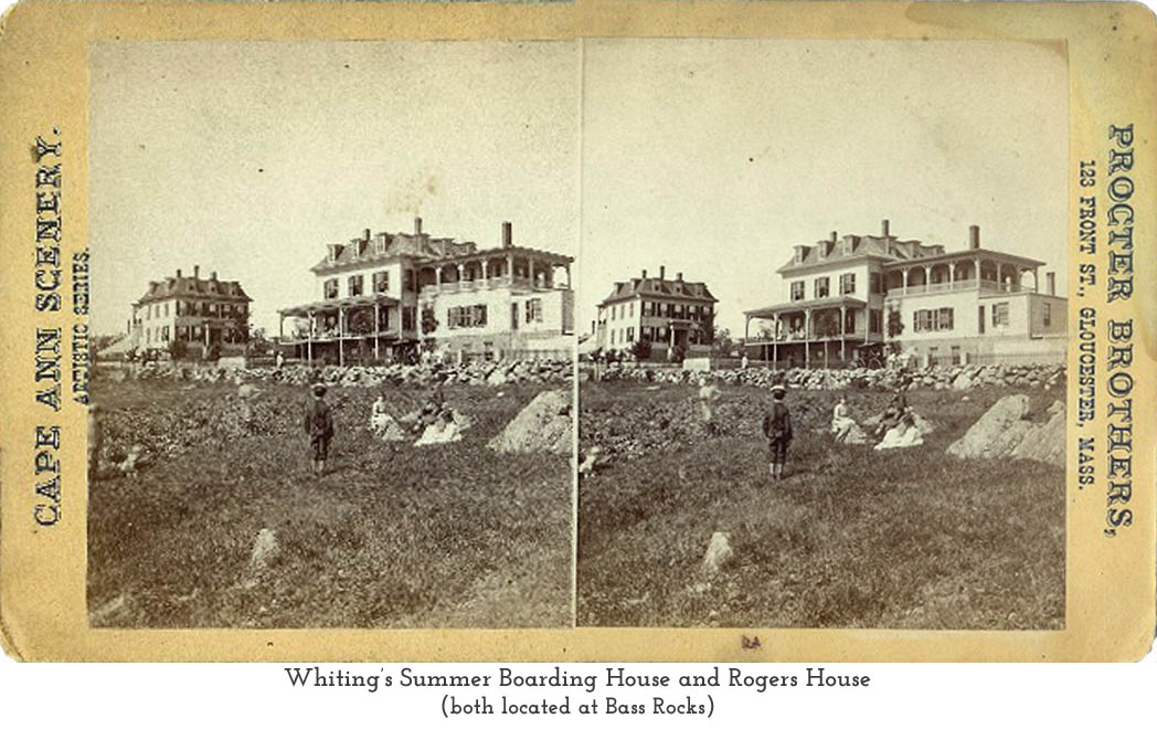 Whiting's Summer Boarding House and the Rogers House