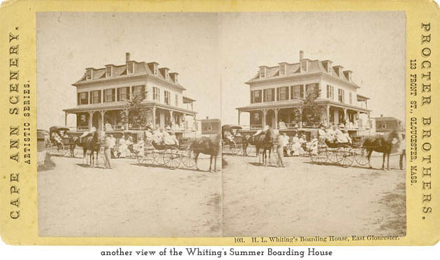 Whiting's Summer Boarding House