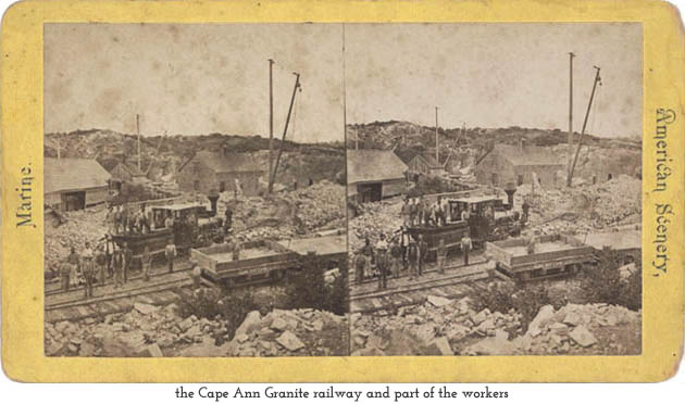 Cape Ann Granite railway